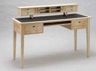 11. Writing desk, Sycamore