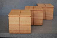 16A. Silky Oak boxes