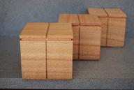 16A. Silky Oak boxes