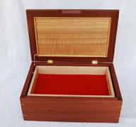 16C.  Service medal box, Jarrah