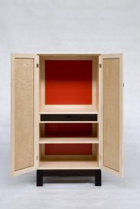 9. Cabinet, Rock Maple,     & Laminex